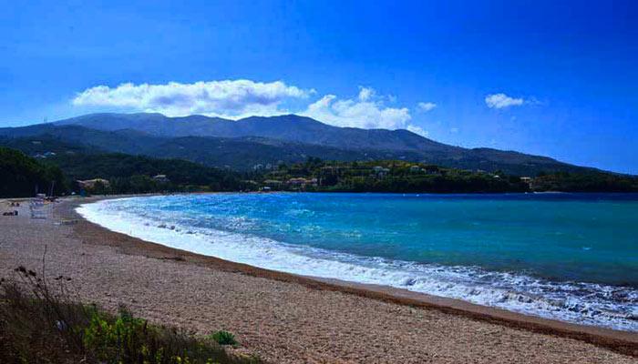 Avlaki Beach - Corfu Kalami Boat Hire