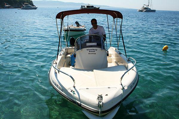 Boat Hire Tuition - Corfu Kalami Boat Hire