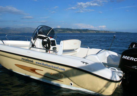 Seastar Ranieri 115 - Corfu Kalami Boat Hire