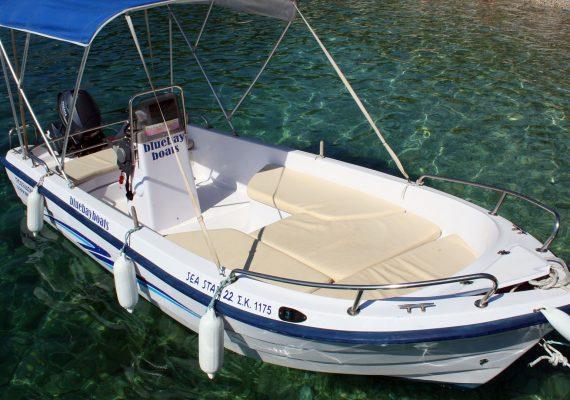 Seastar 20 - Corfu Kalami Boat Hire