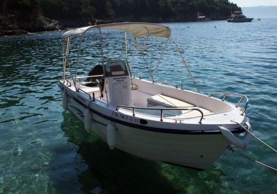 Seastar 30 - Corfu Kalami Boat Hire
