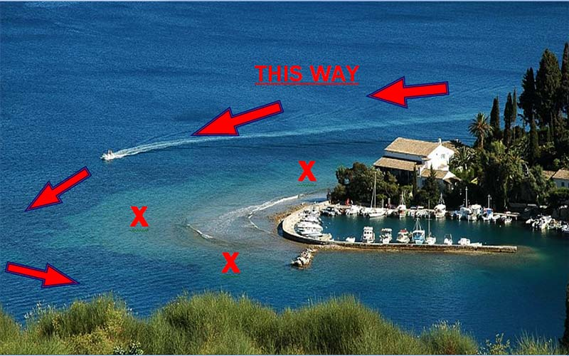 Attention - Corfu Kalami Boat Hire